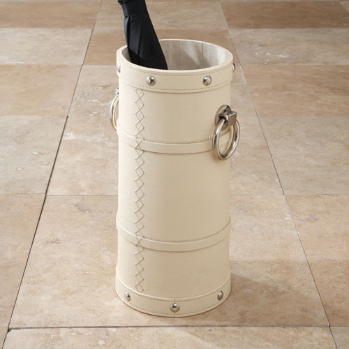 Global Views Ring Ivory Umbrella Stand
