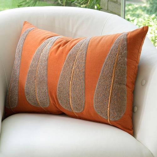 Global Views Copper Tree Pillow