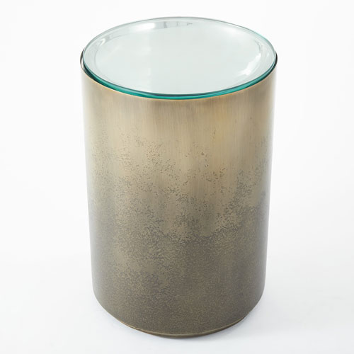 Global Views Ombre Side Table