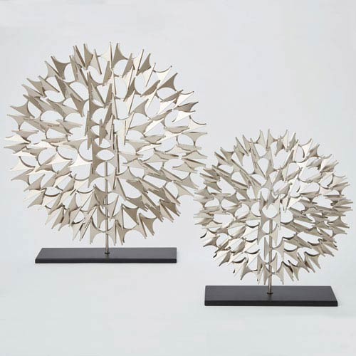Cosmos Nickel Large Sculpture
