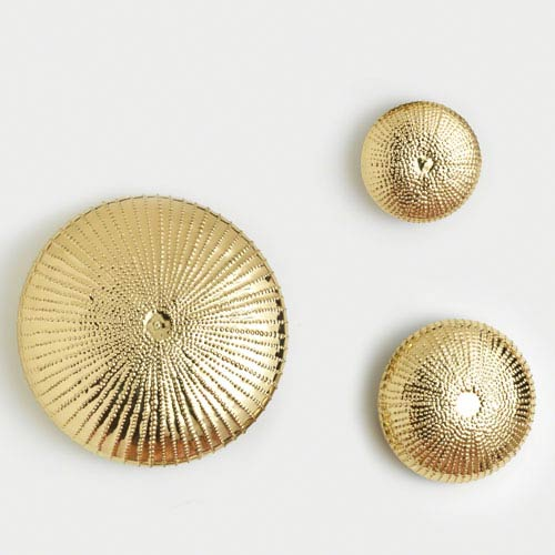 sea urchin decor.htm global views sea urchin small gold wall sculpture 9 92187 bellacor  sea urchin small gold wall sculpture