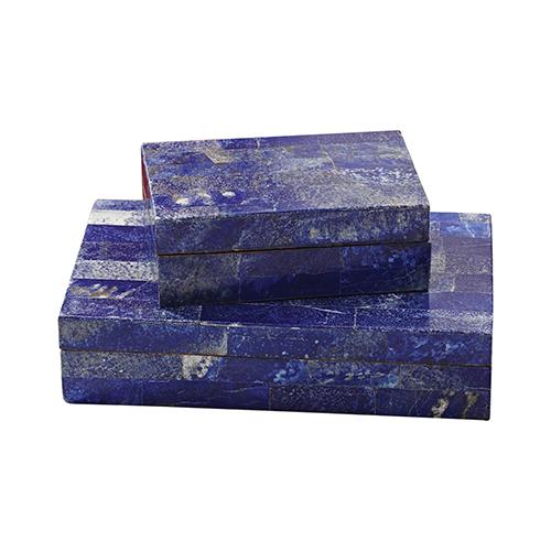 Lapis Large Stone Box
