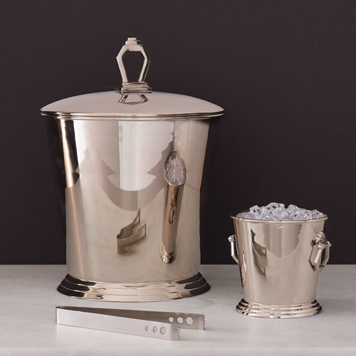 Small Nickel Bucket with Handles