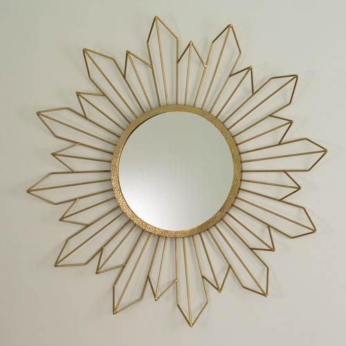 Global Views Radiance Gold Mirror