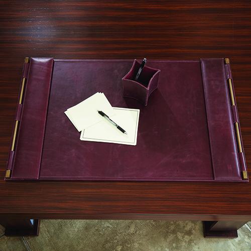 Flap Garnet Wash Desk Blotter