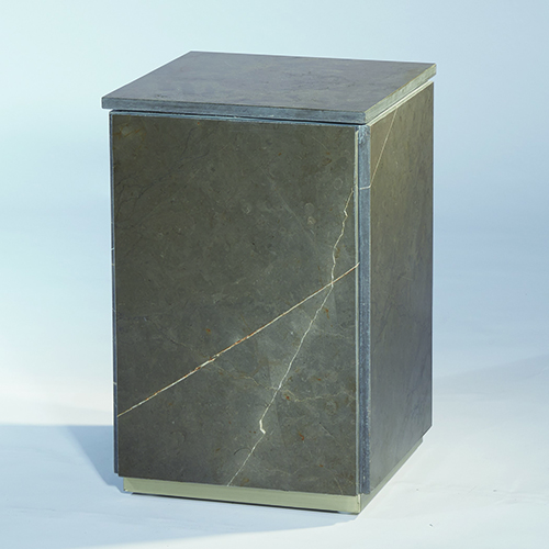 Graffito Marble Side Table