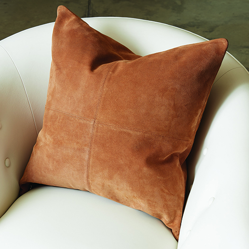 Global Views Four Square Tan Pillow