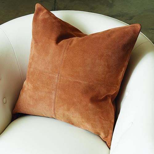 Four Square Tan Pillow