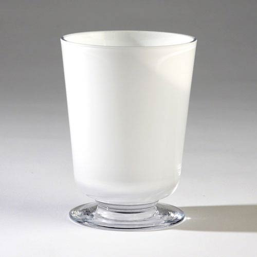 Barbara Barry White Small Clean Line Vase