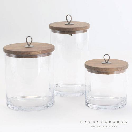 Global Views Rustic Small Canister