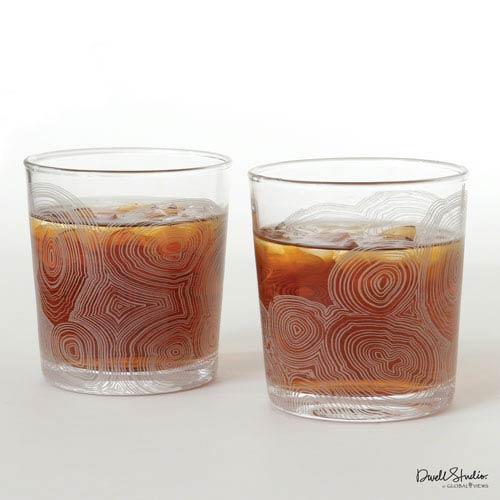 Global Views Malachite Drinking Glass