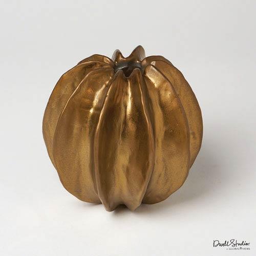 Sea Star Antique Gold Vase