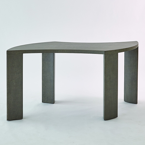 Studio A Toile Linen Grey Table for Four