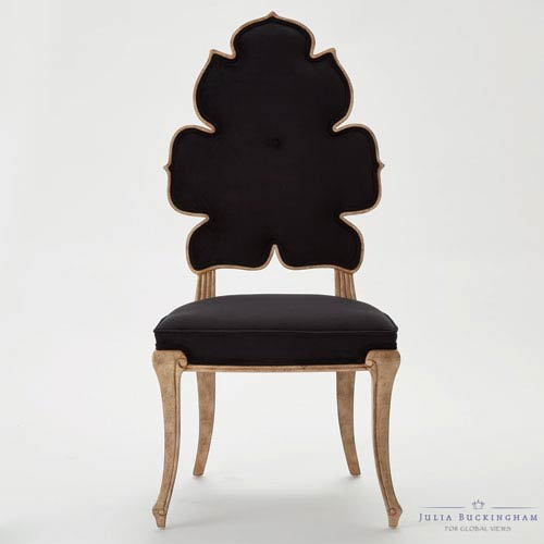 Wiggle Black Dining Chair