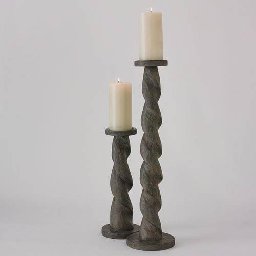 Ribbon Tall Candleholder