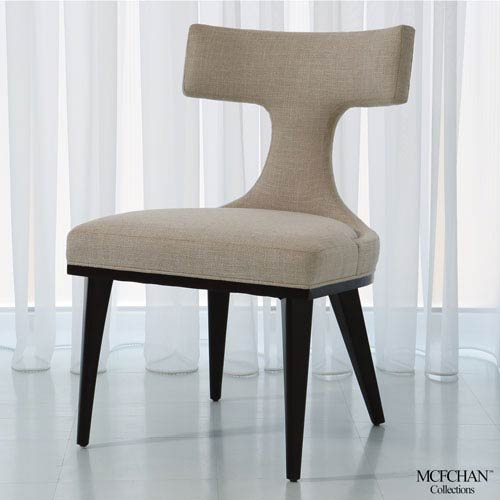 Anvil Back Woven Dining Chair