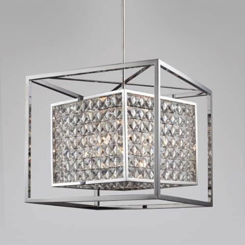 Struttura  Stainless Steel 20-Inch Six-Light Pendant