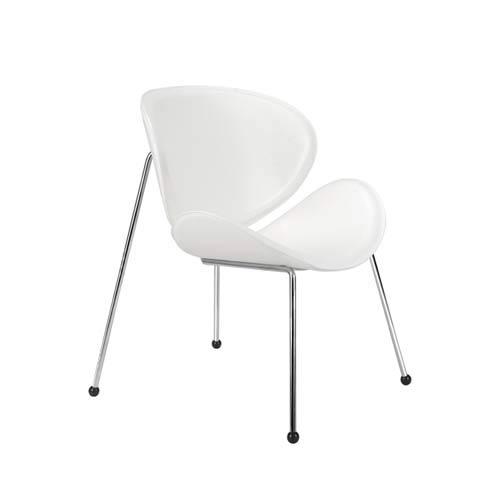 White Match Chair