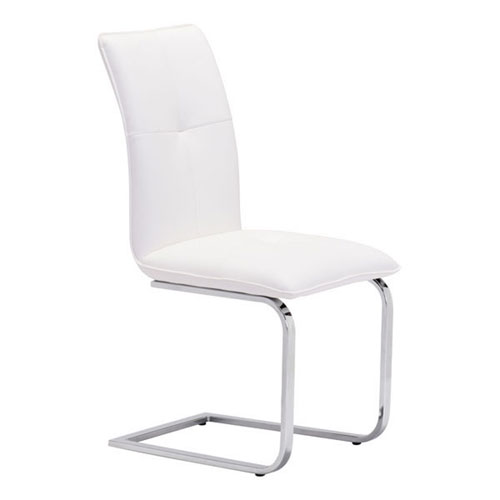 Anjou Dining Chair White, Set of Two