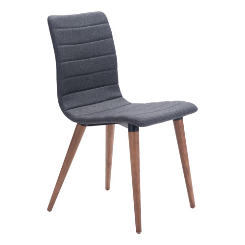 Jericho Dining Chair Gray, Set of Two
