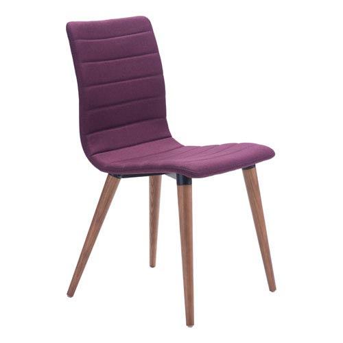 Jericho Dining Chair Purple (Set of 2)