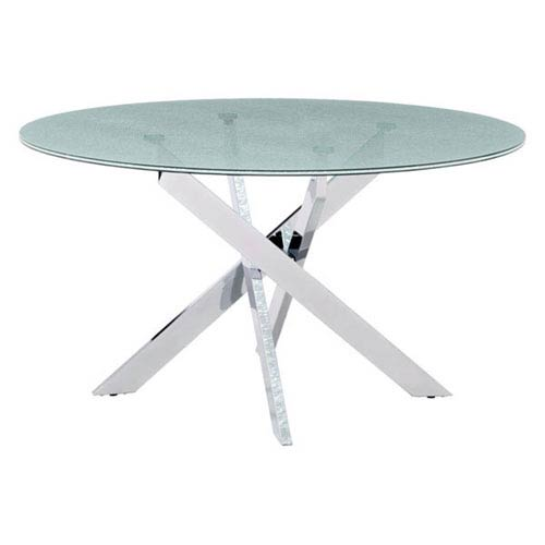 Zuo Modern Contemporary Stance Dining Table Crackled