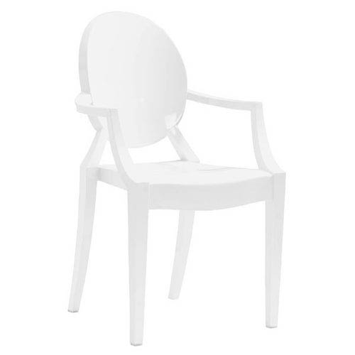 Zuo Modern Contemporary Anime Dining Chair White (Set of 4)