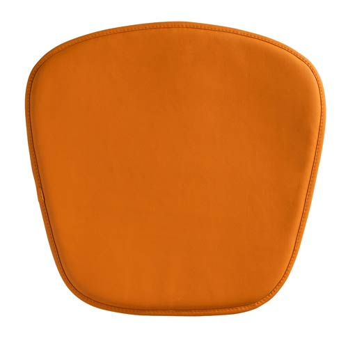 Zuo Modern Contemporary Wire and Mesh Orange 18.5-Inch Cushion