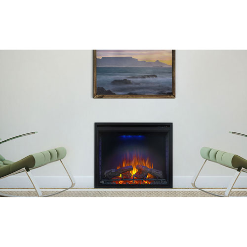 Ascent 33-Inch Clean Face Electric Fireplace