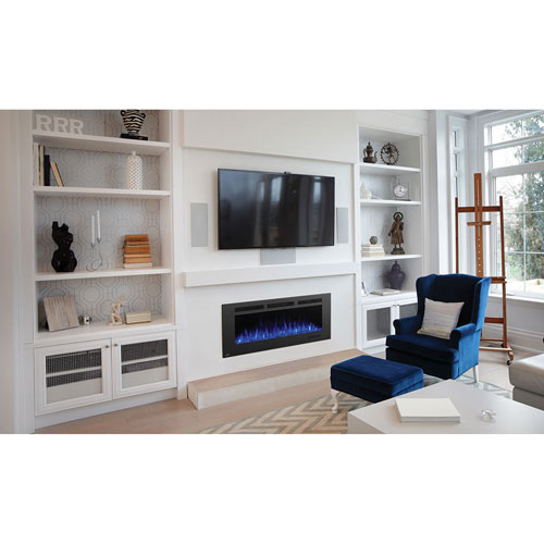 Napoleon Fireplaces Allure Phantom 50 In. Electric Fireplace