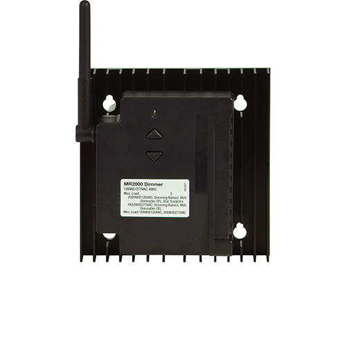 Black Wi-Fi Lighting System 2000W Forward Phase Dimmer
