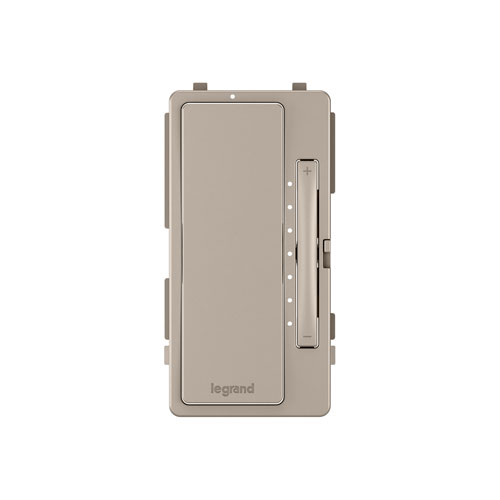 Nickel Multi-Location Dimmer Interchangeable Face Plate