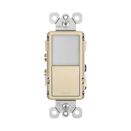 Legrand radiant Ivory Night Light with Single-Pole 3-Way Switch