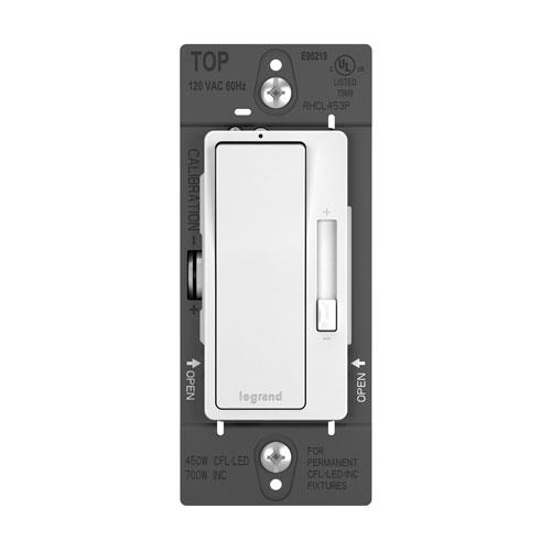 450W White CFL LED Single Pole 3-Way Dimmer