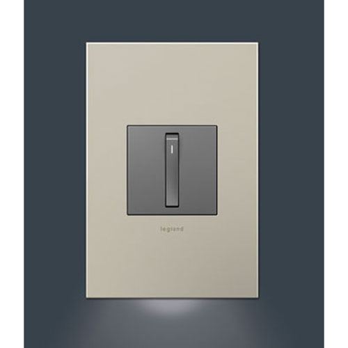 Nightlight Accessory for 1-Gang Wall Plate