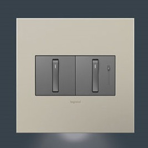 Nightlight Accessory for 2-Gang Wall Plate