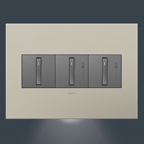 Nightlight Accessory for 3-Gang Wall Plate