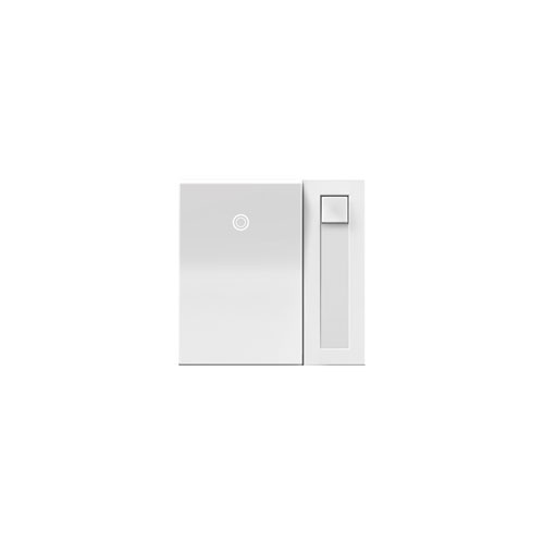 White Paddle Dimmer 700W for Incandescent and Halogen