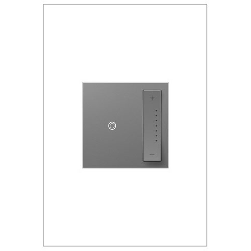 Legrand Adorne Magnesium sofTAP Tru-Universal Dimmer 700W, Compatible with All Lighting