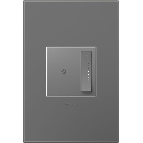 sofTap Dimmer, Tru-Universal and Magnesium Wall Plate Bundle