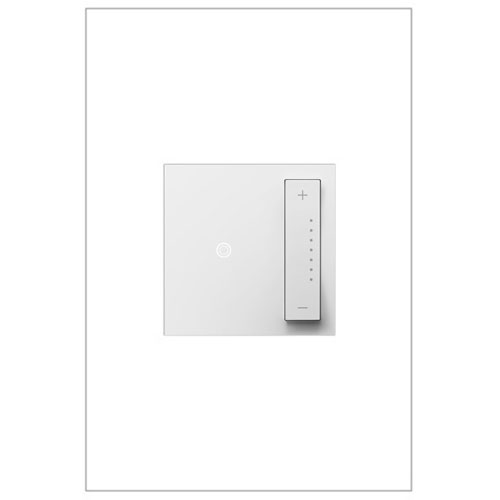 White sofTAP Tru-Universal Dimmer 700W, Compatible with All Lighting