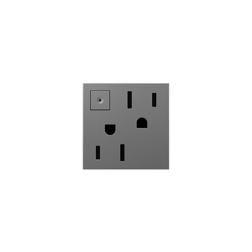 Magnesium Energy-Saving 1-Gang Outlet