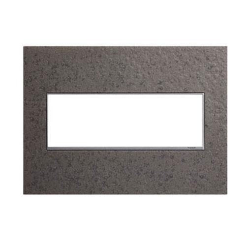 Hubbardton Forge Natural Iron 3-Gang Wall Plate