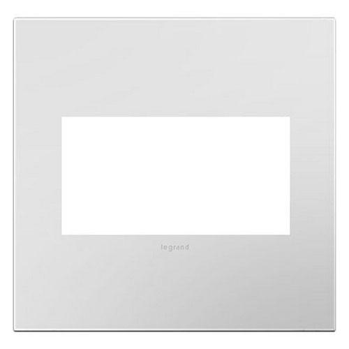 Powder White 2-Gang Wall Plate