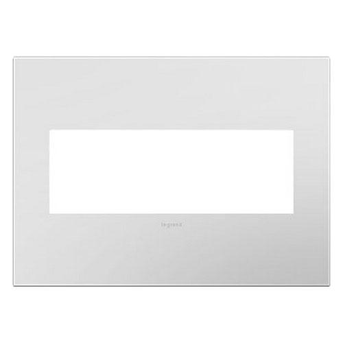 Powder White 3-Gang Wall Plate