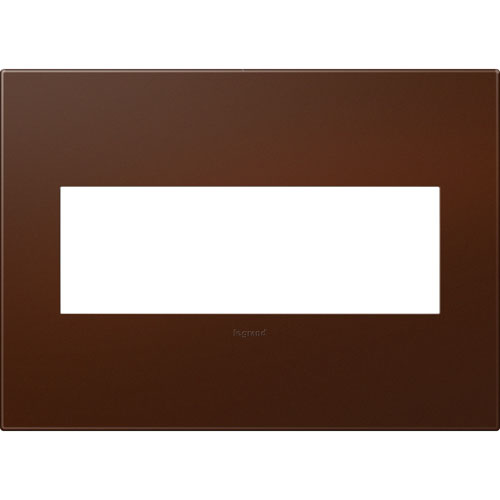 Russet Soft Finish Plastics 3-Gang Wall Plate