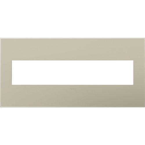 Titanium Plastics 5-Gang Wall Plate