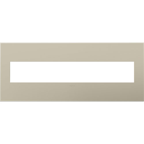 Titanium Plastics 6-Gang Wall Plate