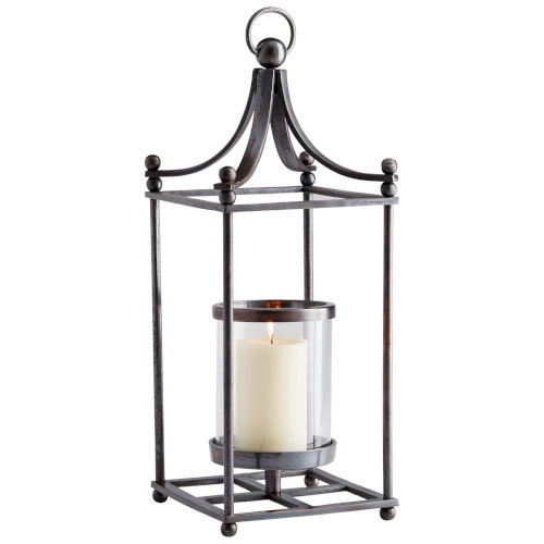 Dark Copper Small Foxboro Candleholder