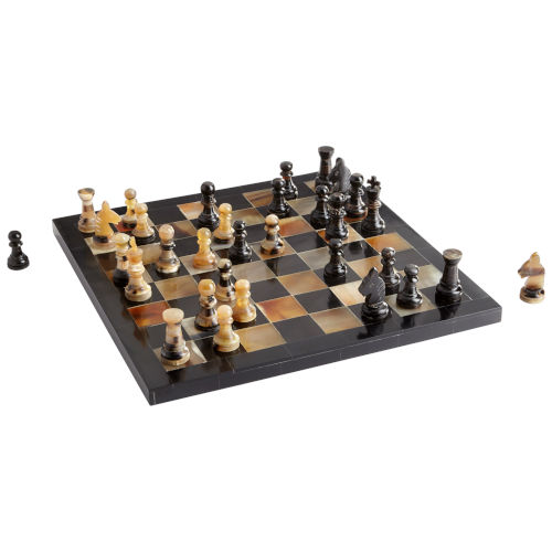 Checkmat Horn 12-Inch Chess Board